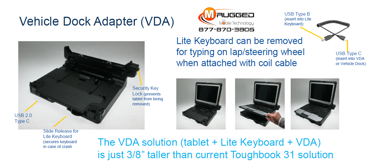 Toughbook VDA Keyboard