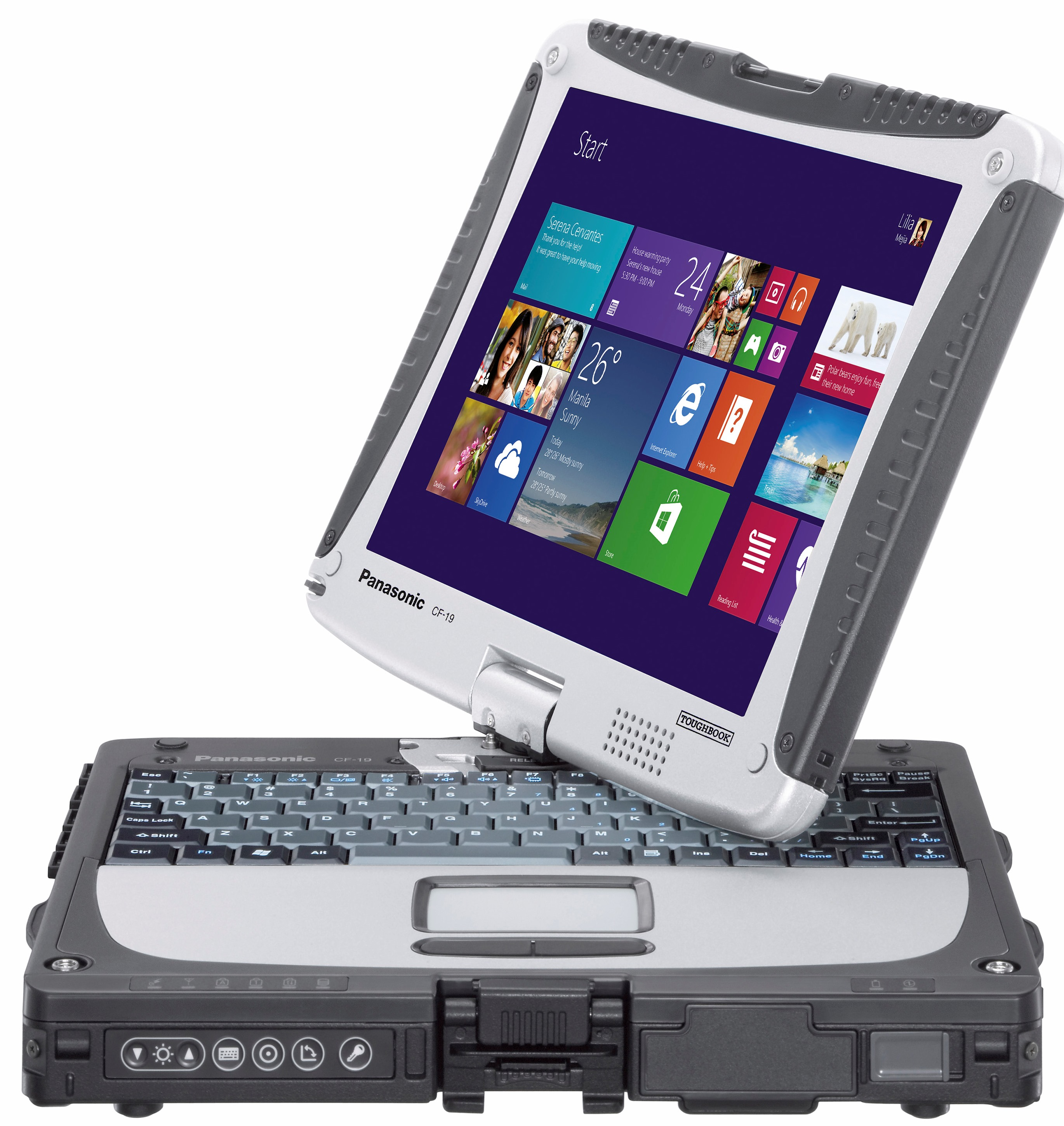 Panasonc Toughbook CF-19 MK7  Windows 8
