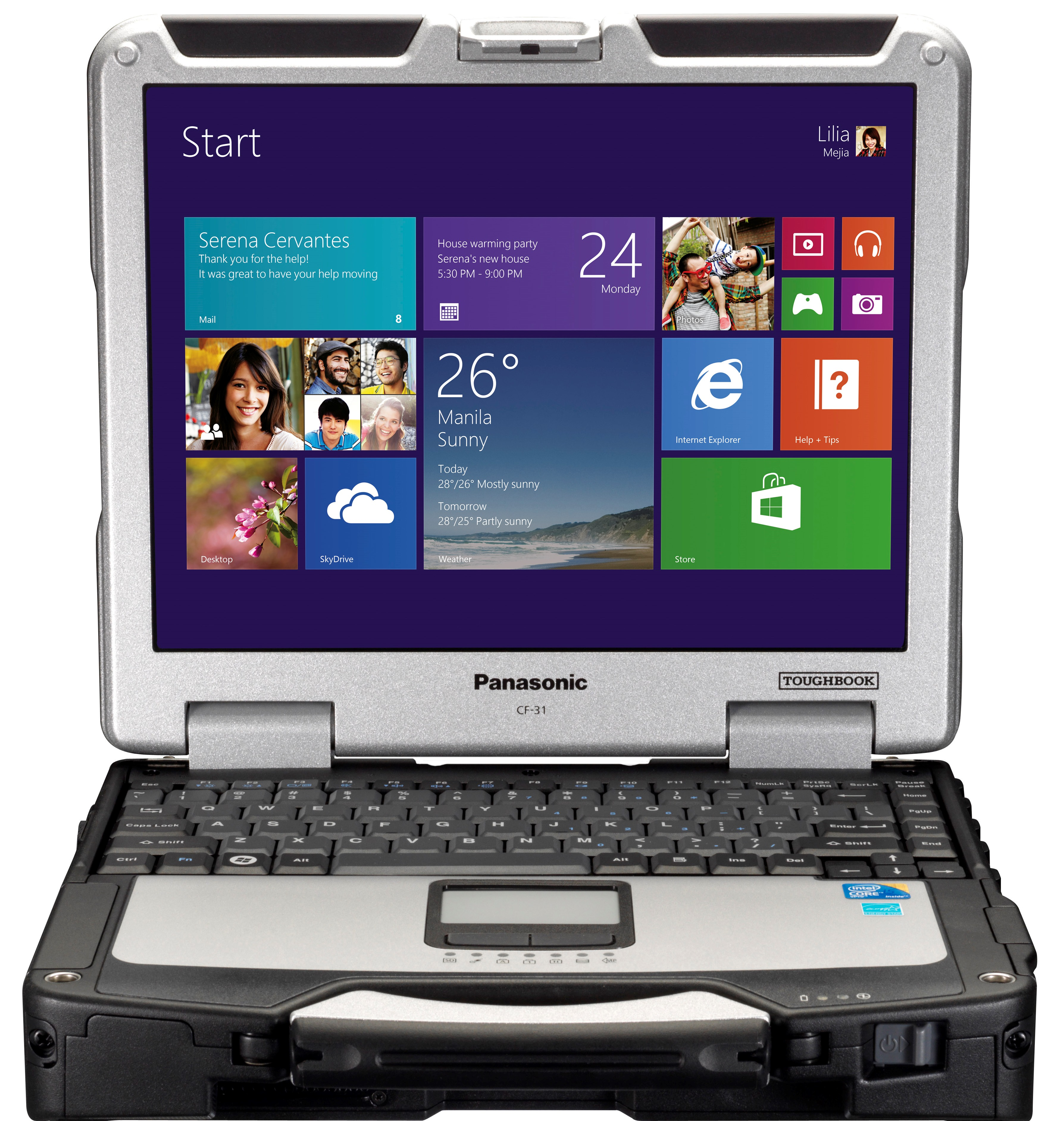 Panasonc Toughbook CF-31 MK4 Windows 8
