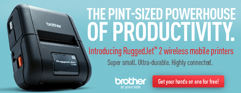 "Brother RuggedJet 2"" Thermal Printers"