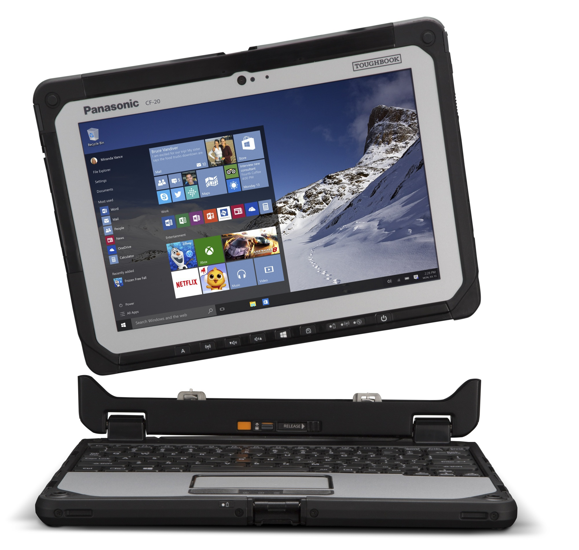 Toughbook 20 2 in 1