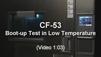Boot-up Test in Low Temperature