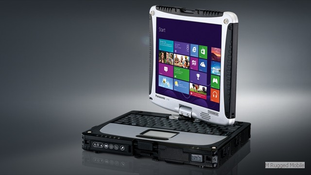 Toughbook 19 mk8 - Rugged 10.1 Inch 6000 nit  Touchscreen Windows Convertible to Tablet Optional Digizer