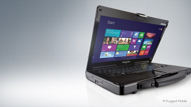 Toughbook 53 mk4 - Semi Rugged 14 Inch HD Widescreen Windows Laptop Optional 800 nit Touchscreen