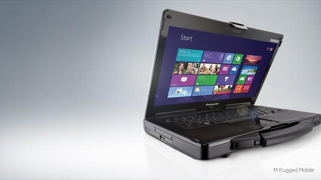 Toughbook 53 mk4 - Semi Rugged 14 Inch HD Widescreen Windows Laptop Optional 800 nit Touchscreen