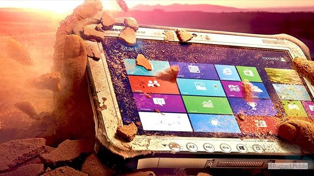Toughpad FZ-G1 mk2 - Rugged 10.1 Inch 800 nit Windows Tablet