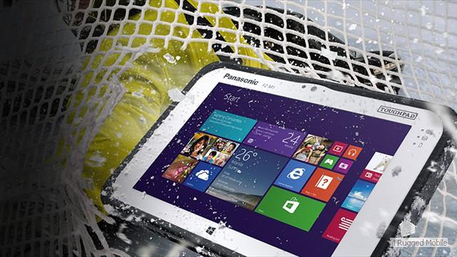 Toughpad FZ-M1 mk1 - Rugged 7 Inch WXGA 500 nit Windows Tablet