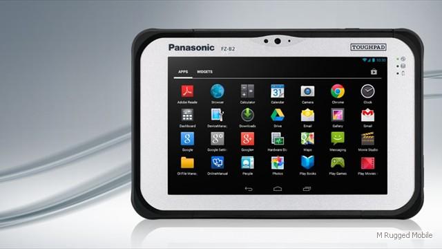 Toughpad FZ-B2 mk1 - Rugged 7 Inch WXGA 500 nit Android Tablet