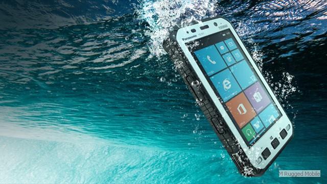 Toughpad FZ-E1 - Rugged 5 Inch HD 500 nit Windows Tablet