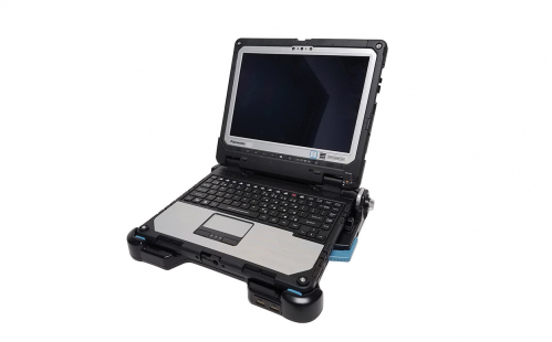 Toughbook CF 33 Mount as a Laptop