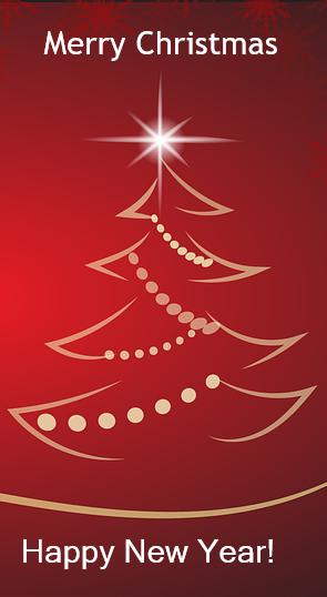 Merry Christmas, Happy New Year!