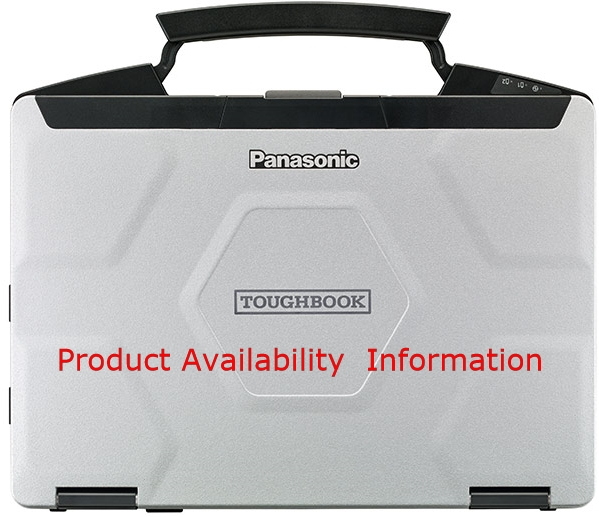 Panasonic Toughbook Toughpad Product Availability
