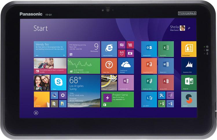 """Toughpad FZ-Q1 12.5"""" Semi-Rugged Tablet"""