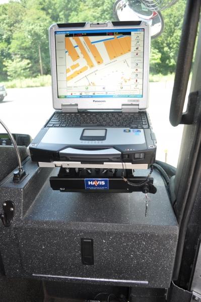 C Md 301 Havis Computer Mount Motion Device Slide Rail