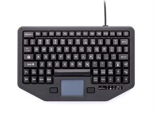 IK-88-TP-USB-P  Toughbook USB Rugged Backlit Keyboard with Touchpad