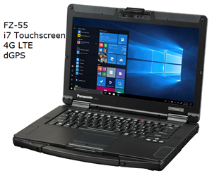 TOUGHBOOK 55 - I7 Touchscreen 4G LTE dGPS