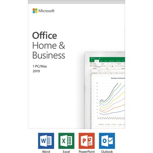 Microsoft Office 2019 Home & Business - License - 1 PC/Mac, 1 Device - Download