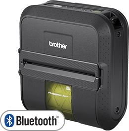 "Brother Ruggedjet RJ-4030 4""  Bluetooth  Mobile Thermal Printer"