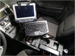 Toughpad and Keyboard Vehicle Mount