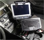 Havis TOUGHPAD G1 Vehicle Mounting