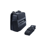 Printer carrying case w/back web loops, D-rings, compatible with RJ4200, includes shoulder strap.