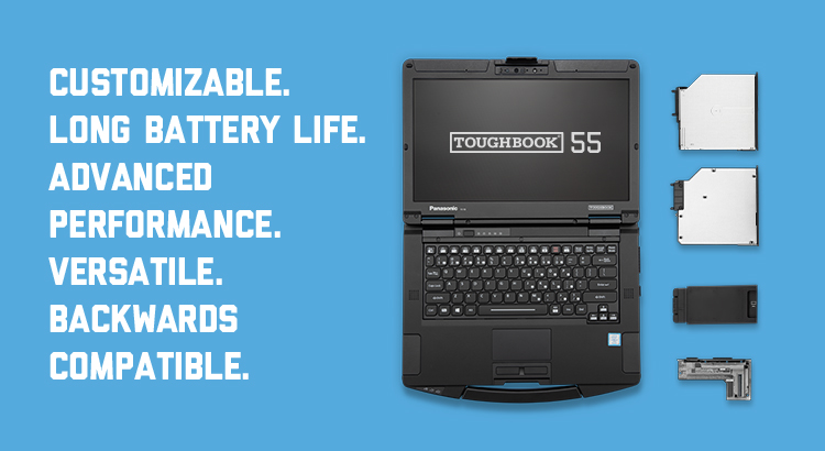 TOUGHBOOK 55 Customizable Advanced Performance Semi-Rugged Laptop