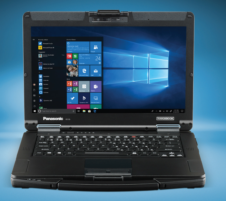 TOUGHBOOK FZ-55 Front View